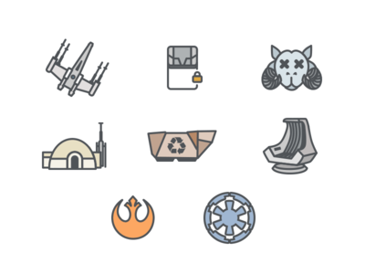 Starbnb Icons
