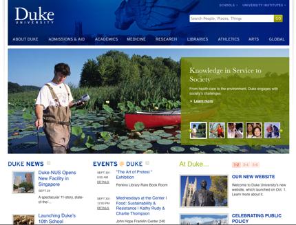 Duke University Home Page