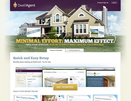 DwellAgent home page