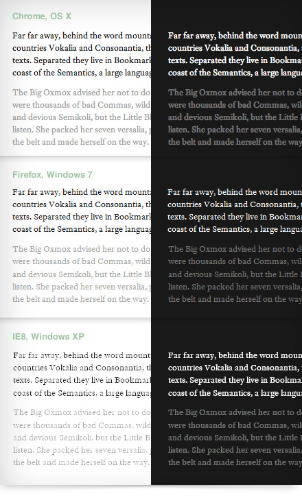 font-face, Realistically | Viget