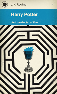 Harry Potter and the Goblet of Fire cover by M.S. Corley