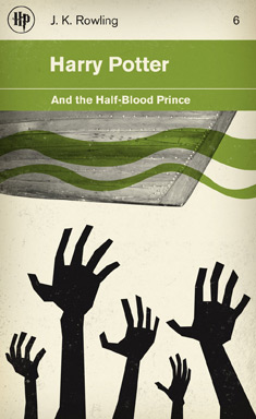 Harry Potter and the Half Blood Prince cover by M.S. Corley
