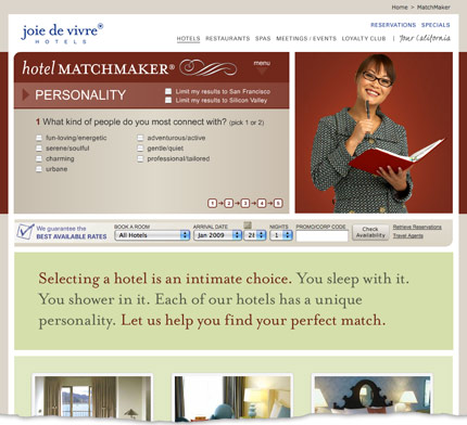 Hotel Matchmaker