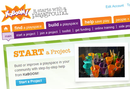 KaBOOM! Project Planner