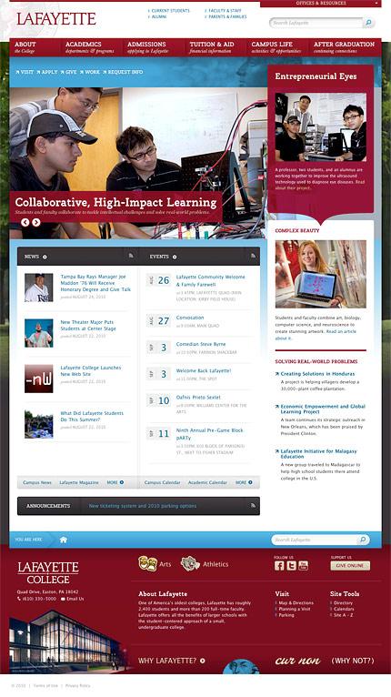Lafayette College Homepage