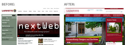 Lafayette College Before & After