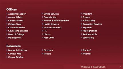 Lafayette College Website