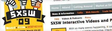 SXSW Interactive podcasts