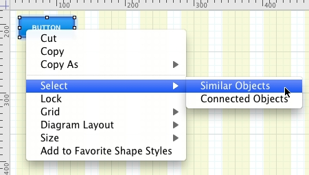 Omnigraffle Select Similar