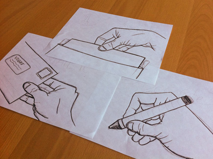 Vigegram Hand Sketches