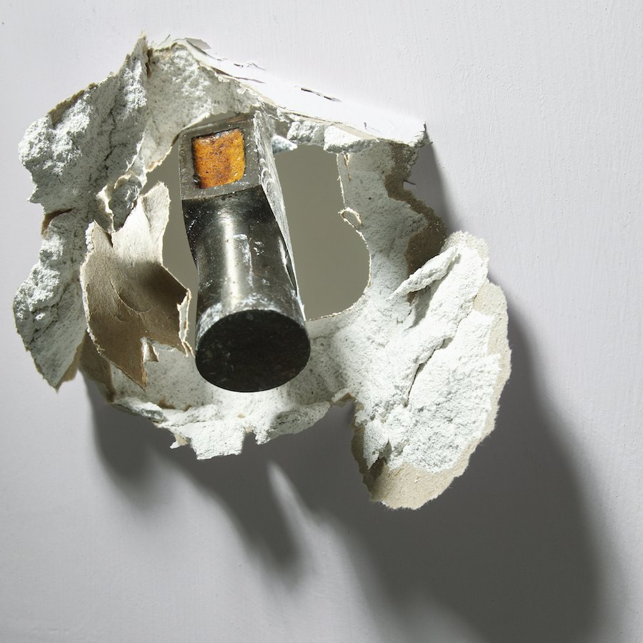 teardown hammer through wall