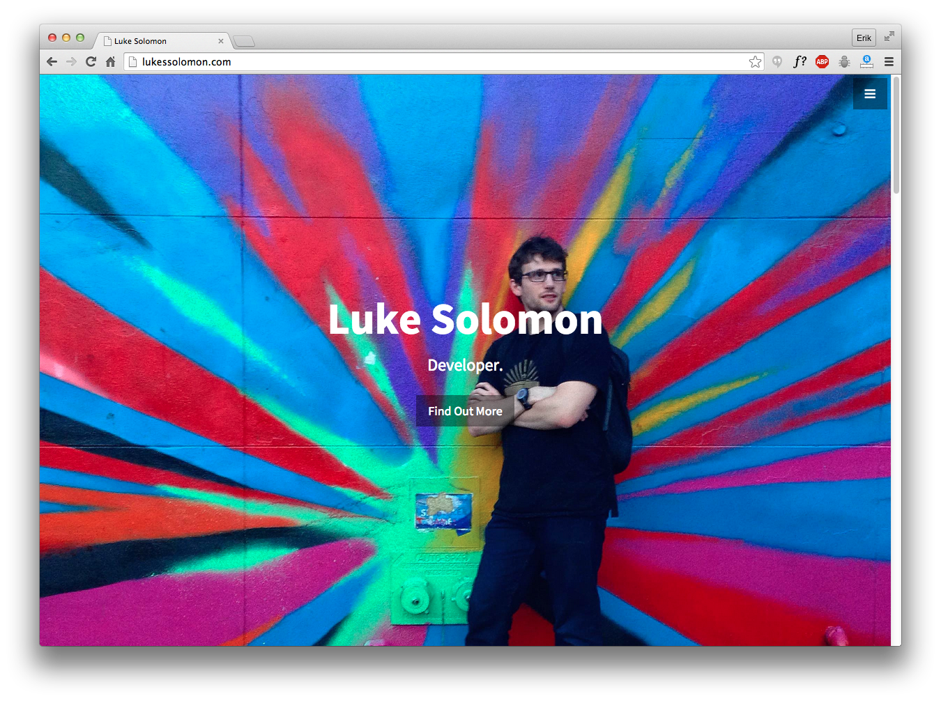 Luke Solomon's Personal Website