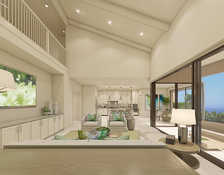 Ravello Interiors Plan 2 02 living kitchen