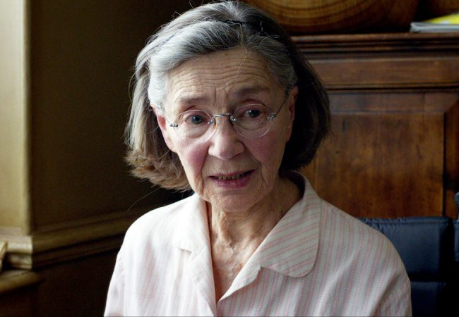 Emmanuelle Riva as Anne in AMOUR Photo by Darius Khondji, (c) Films du Losange, Courtesy of Sony Pictures Classics
