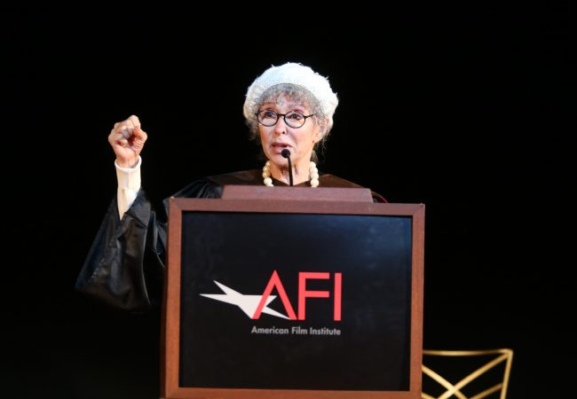 AFI 2016 Honorary Degree recipient Rita Moreno