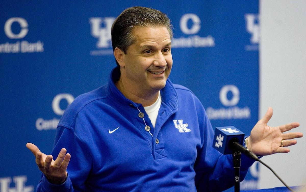 John Calipari: University Of Kentucky Men's Basketball Coach John