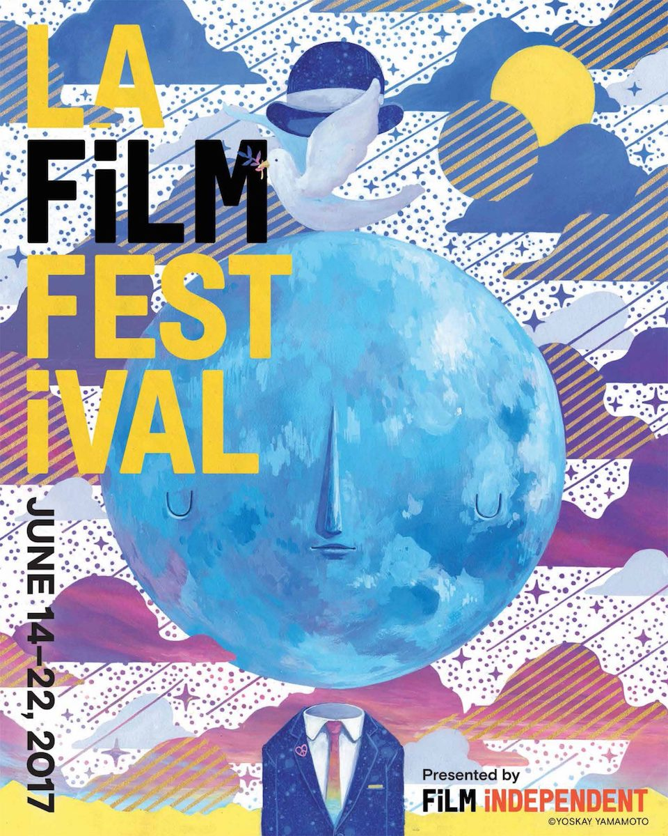 Official 2017 LA Film Festival Poster - Artist Yoskay Yamamoto