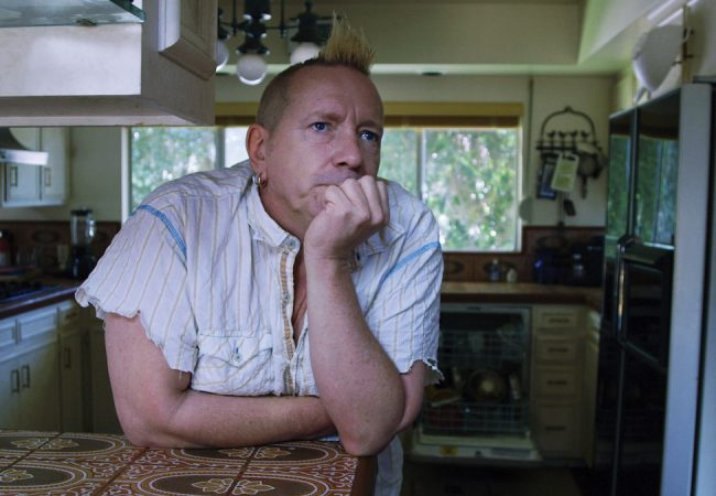 John Lydon in THE PUBLIC IMAGE IS ROTTEN. Photographer: Yamit Shimonovitz.