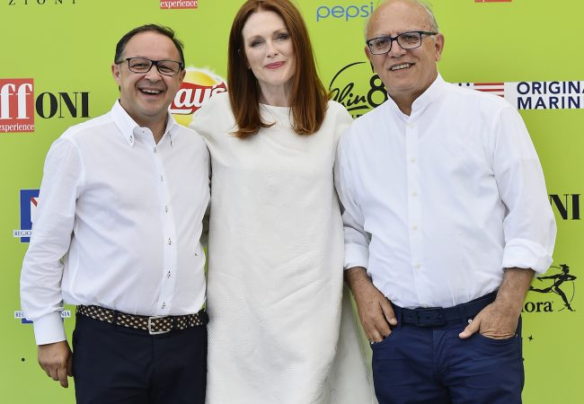 Photos: Julianne Moore Honored at Giffoni Film Festival