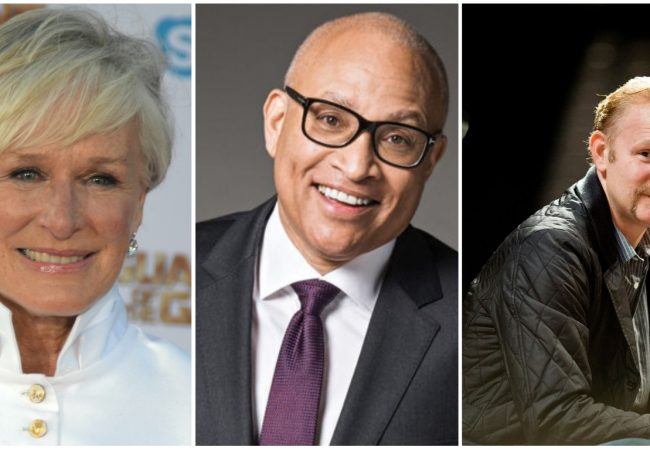 Glenn Close, Larry Wilmore, Morgan Spurlock