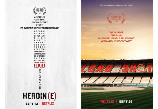 VIDEO: Watch Trailers for 2 Netflix Documentary Shorts Premiering at 2017 Telluride Film Festival