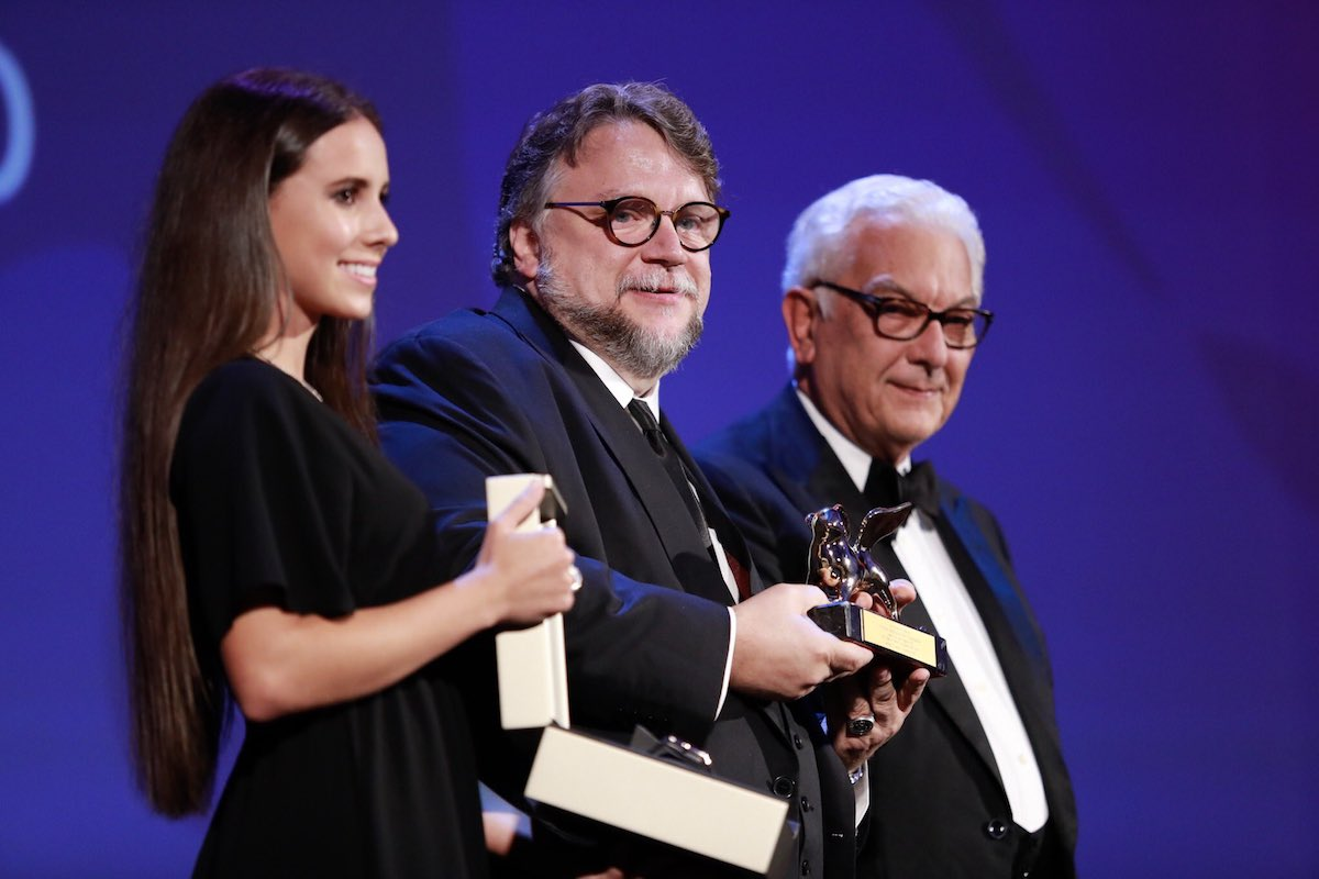 Guillermo del Toro 2017-venice international film festival awards
