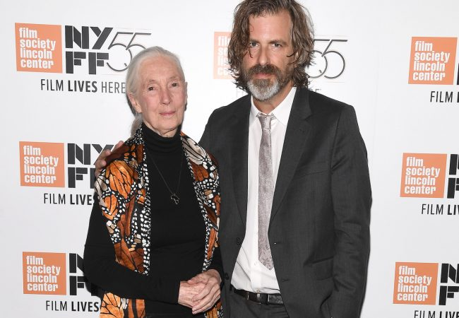 Director Brett Morgen and Jane Goodall Attend NYFF Premiere of JANE