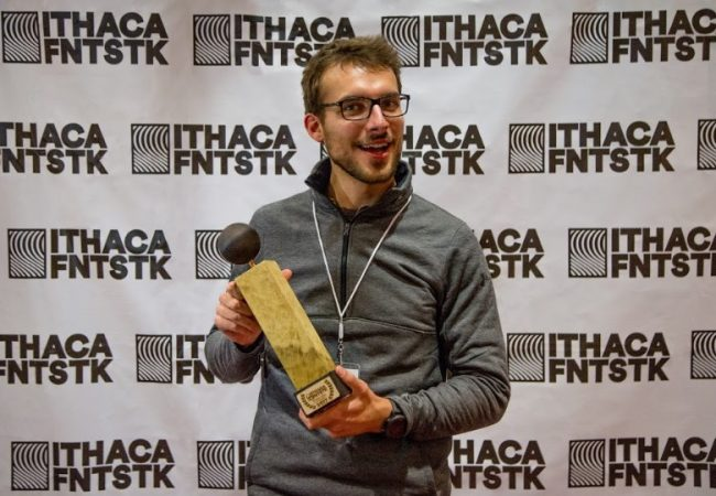 SNOWFLAKE producer Eric Sonnenburg holds the Audience Award, International Competition