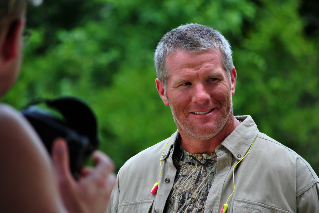 "Brett Favre, documentary ""Shocked: A Hidden Factor in the Sports Concussion Crisis"""