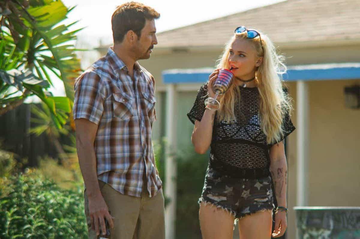 JOSIE starring Sophie Turner, Dylan McDermott