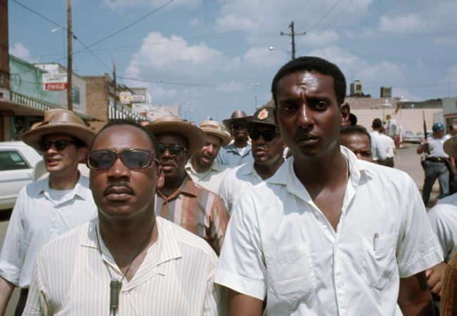 Dr. Martin Luther King Jr. and Stokely Carmichael appear in King In The Wilderness by Peter Kunhardt