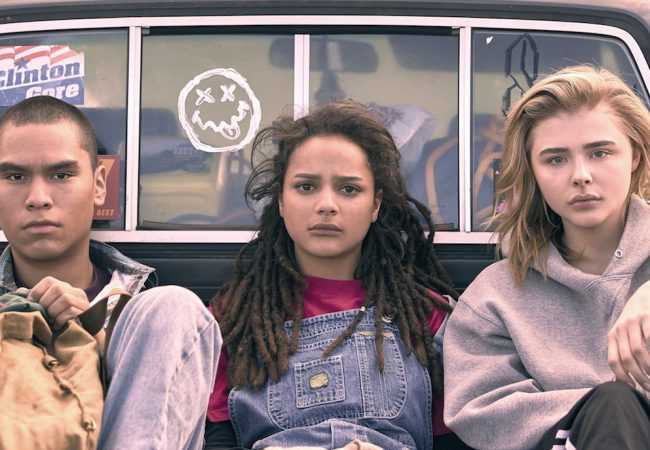 Forrest Goodluck, Sasha Lane and Chloë Grace Moretz appear in The Miseducation of Cameron Post by Desiree Akhavan. Courtesy of Sundance Institute | photo by Jeong Park.