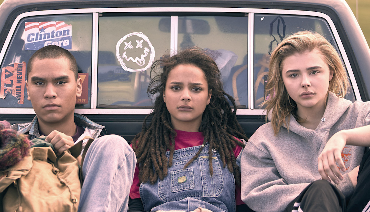 Forrest Goodluck, Sasha Lane and Chloë Grace Moretz appear in The Miseducation of Cameron Post by Desiree Akhavan, an official selection of the U.S. Dramatic Competition at the 2018 Sundance FIlm Festival. Courtesy of Sundance Institute | photo by Jeong Park.