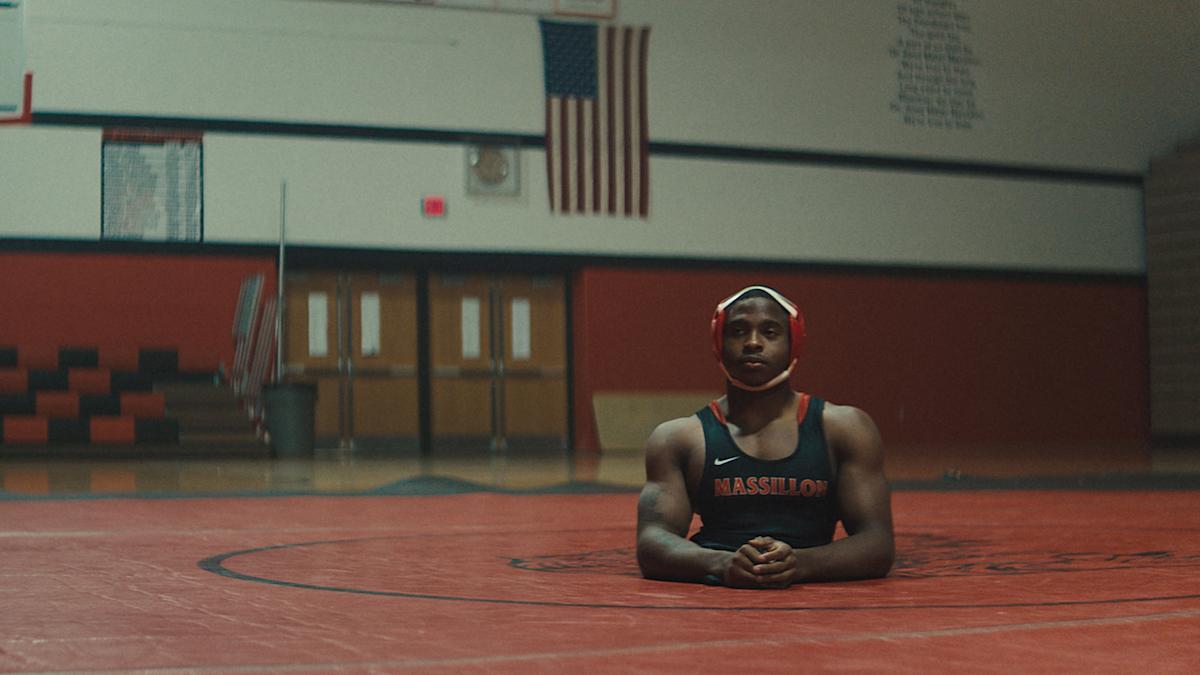 Zion Clark appears in ZION by Floyd Russ   photo by Gregory Wilson