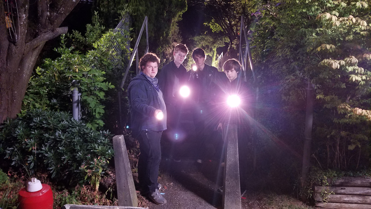 Caleb Emery, Cory Grüter-Andrew, Judah Lewis and Graham Verchere appear in Summer of'84 by Francois Simard, Anouk Whissell and Yoann Whissell