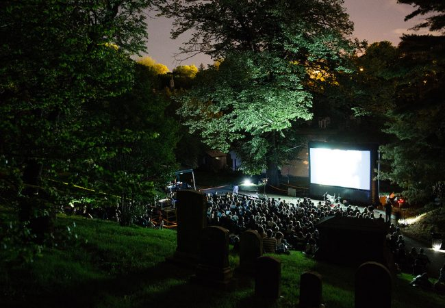 Rooftop Films Kicked off 2018 Summer Series with an Evening of Short Films at Green-Wood Cemetery [Photos]