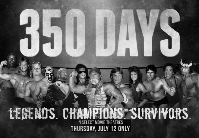 Wrestling Documentary '350 DAYS' Starring Bret Hart and 'Superstar' Billy Graham, in U.S. Cinemas July 12 Only [Trailer]