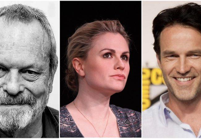 Terry Gilliam, Anna Paquin, Stephen Moyer