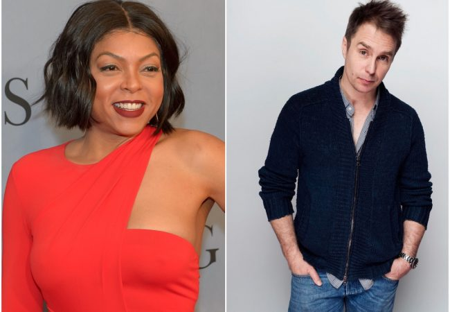 Taraji P. Henson and Sam Rockwell