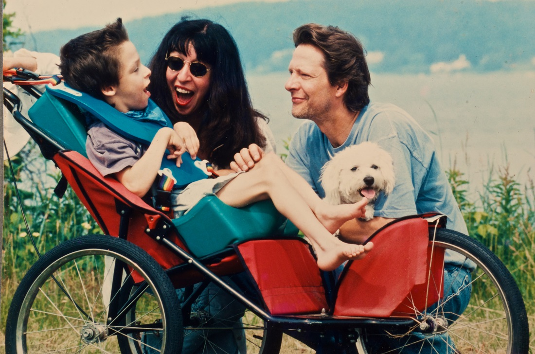 Jesse, Marianne, and Chris Cooper in INTELLIGENT LIVES