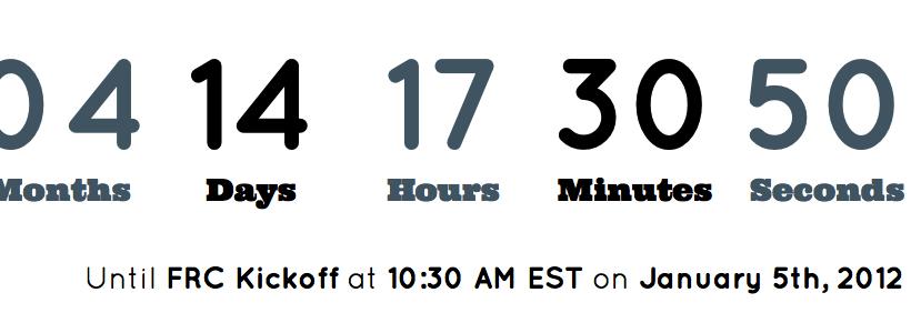 FRC Countdown