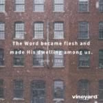 Christmas Social Media Graphics – The Word Became Flesh