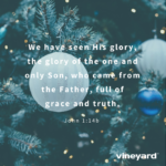 Christmas Social Media Graphics – We Have Seen His Glory