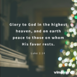 Christmas Social Media Graphics – Glory To God