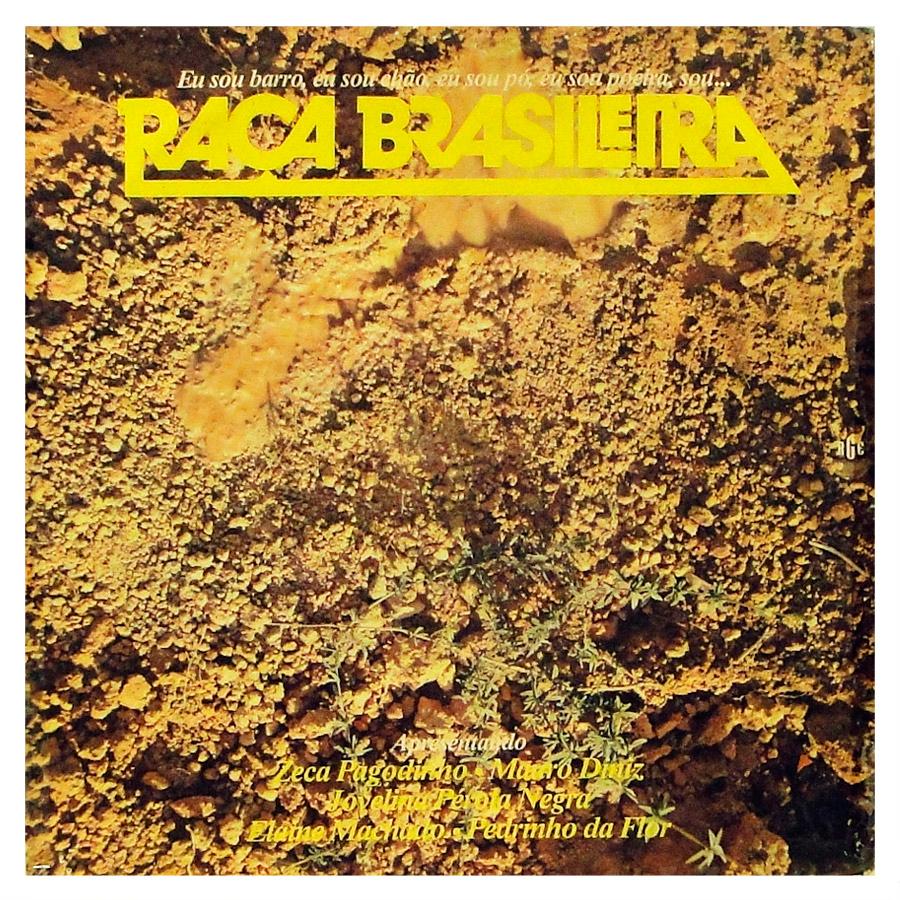 Disco de vinil - Raça Brasileira - Vinil Records - Lp