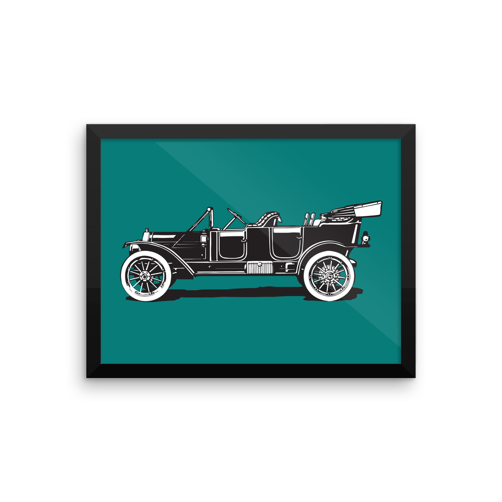 Vintage Car framed-poster_12x16