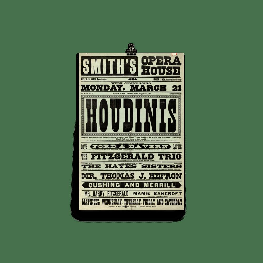 Houdini Opera House Poster