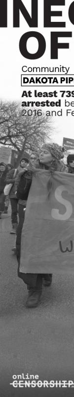 Offline/Online: Dakota Pipeline Protesters