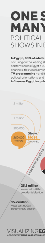One Story, Many Faces: How Egypt's political TV is influencing public opinion