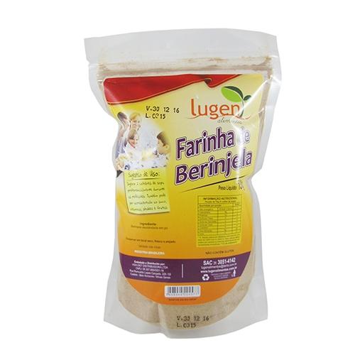 Lugen Alimentos Farinha de Berinjela 150g